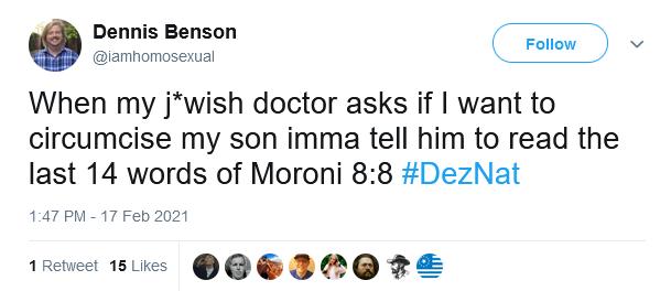 zach martin deznat book of mormon antisemitism