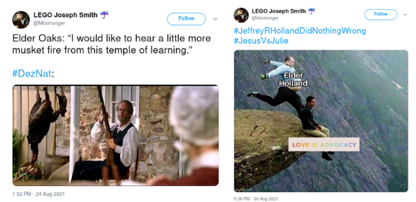 mormonger deznat mormon lds